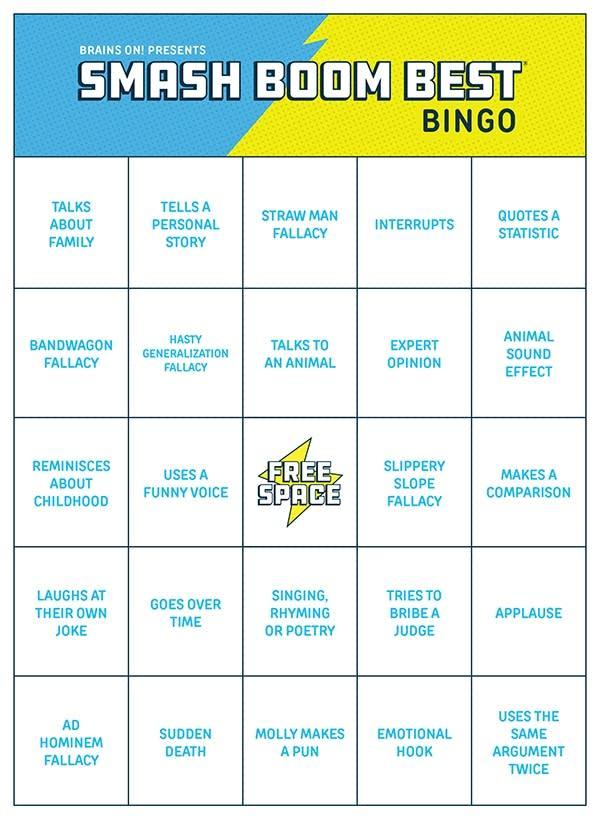 Smash Boom Best Bingo