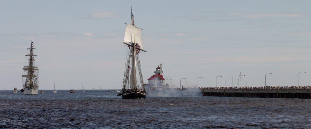 The U.S. brig Niagara
