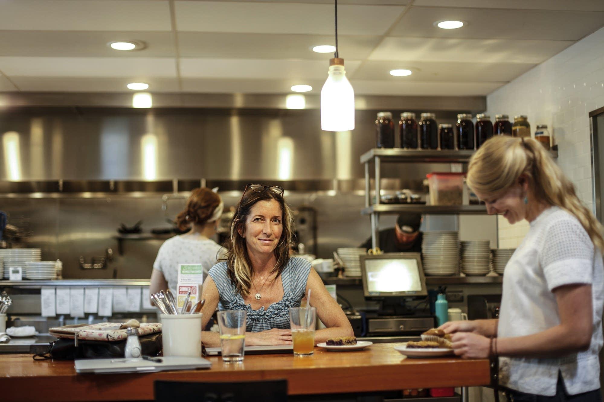 Tracy Singleton, owner of the Birchwood Cafe.
