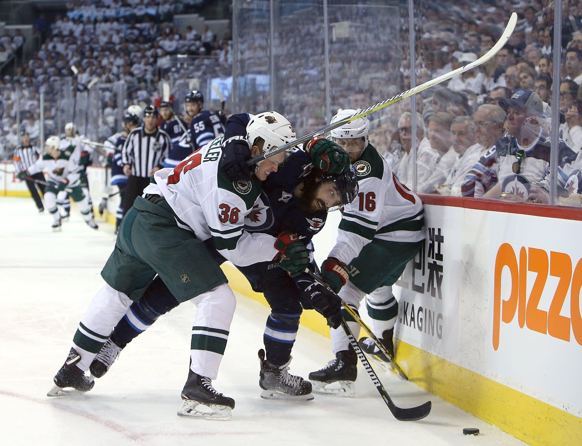 Minnesota Wild vs. Winnipeg Jets, 4-13
