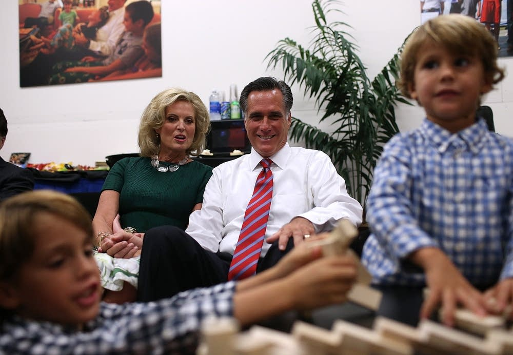 Romney and family