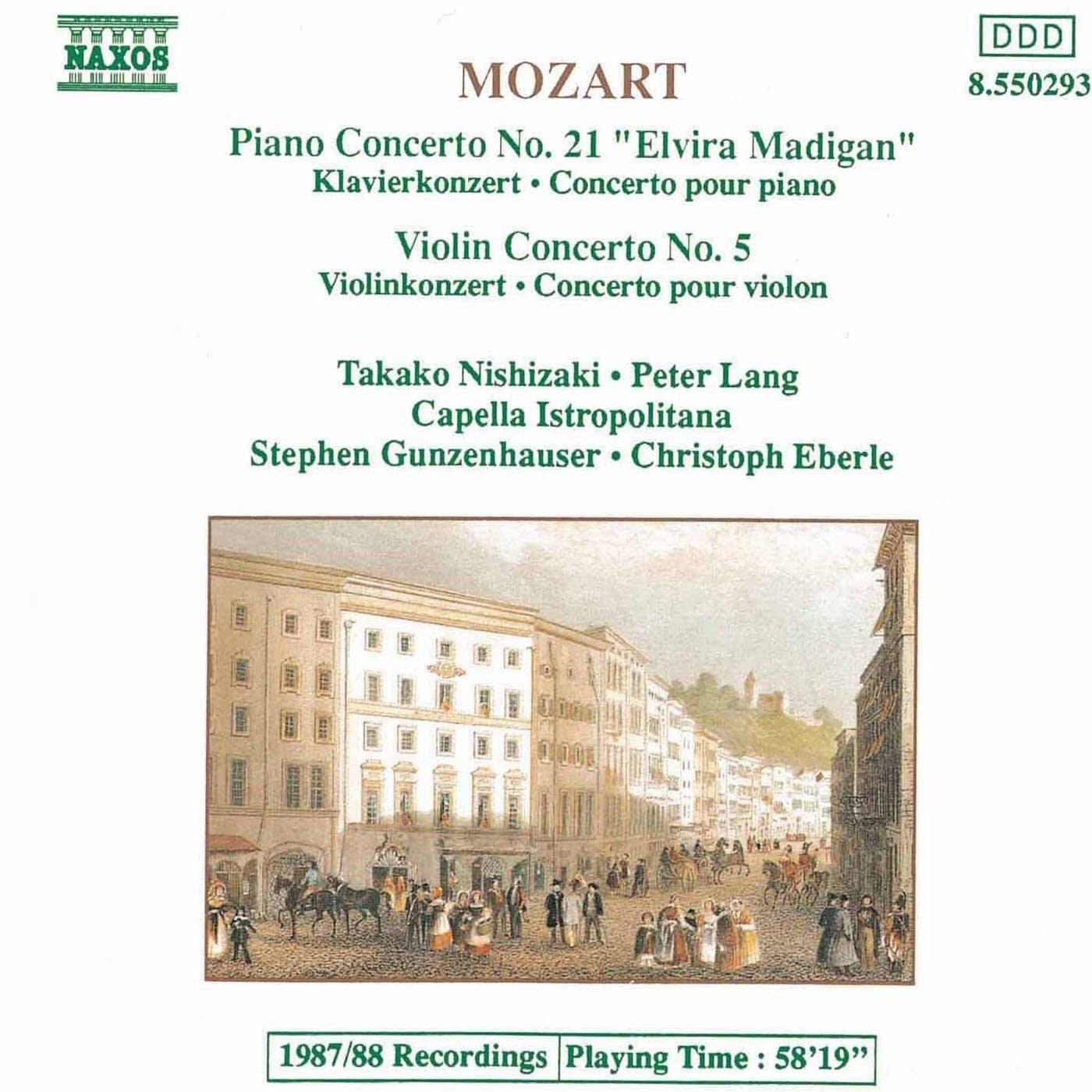 Wolfgang Amadeus Mozart - Violin Concerto No. 5: II. Adagio