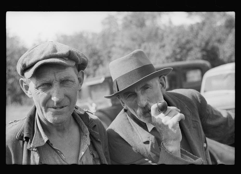 Farmers at auction