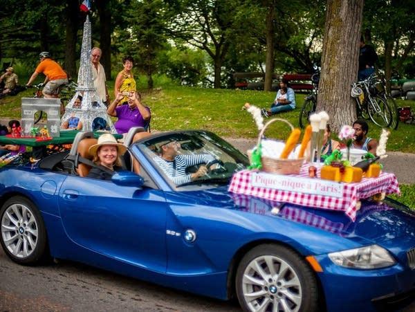 Cars as canvas: ArtCar Parade returns to Minneapolis on Saturday   MPR News