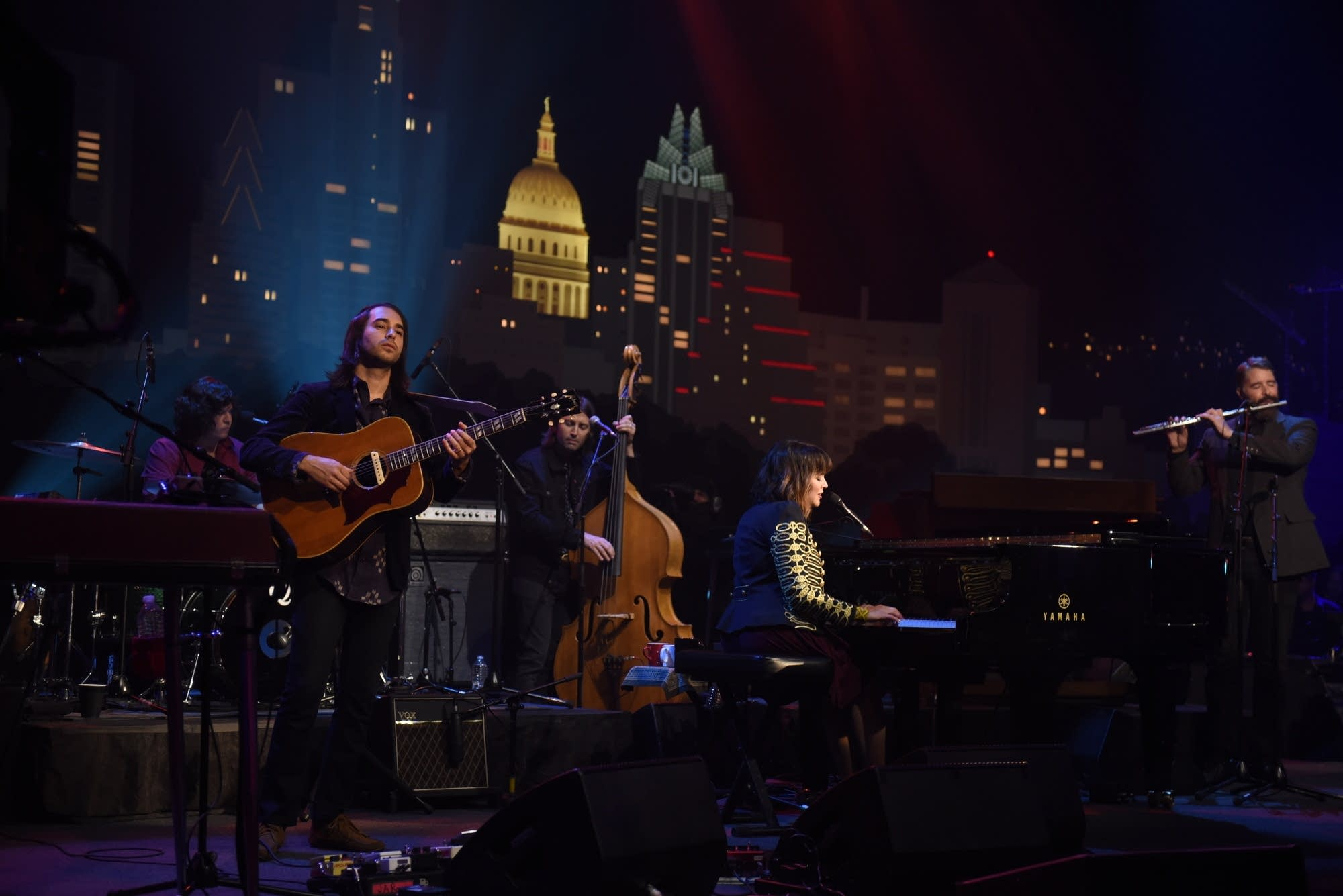 Norah Jones performing on 'Austin City Limits'