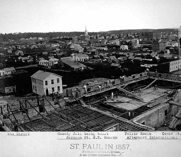 St. Paul in 1857