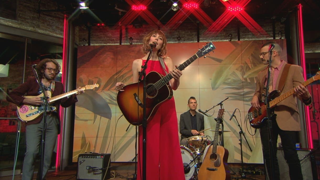 Molly Tuttle performs on CBS This Morning Saturday Sessions