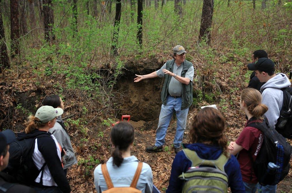 Soil science class