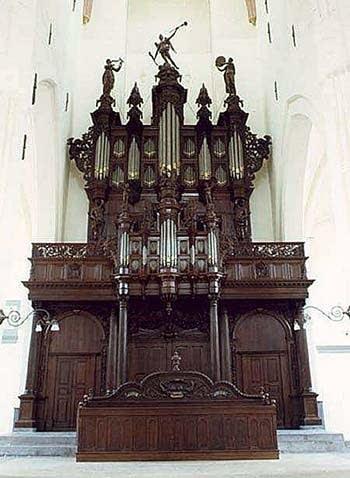 1702 Schnitger organ at the AaKerk in Groningen, the Netherlands