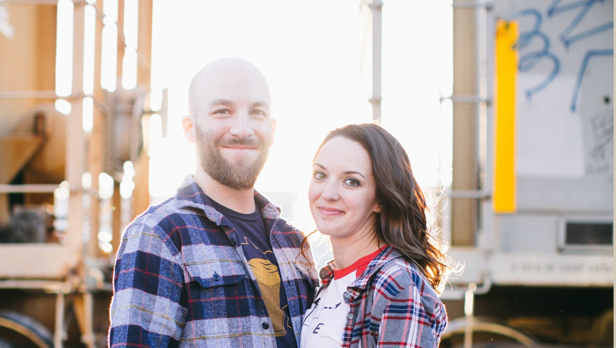 Jocelyn and Brendan engagement photo
