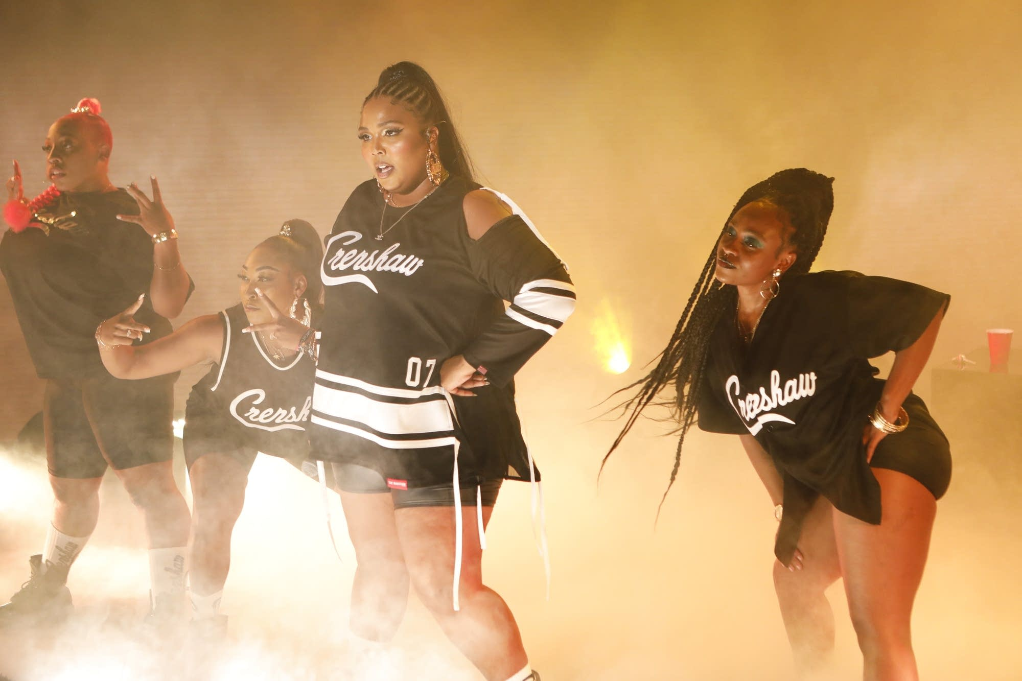 Lizzo performs 'Juice' on 'Jimmy Kimmel Live!' on ABC