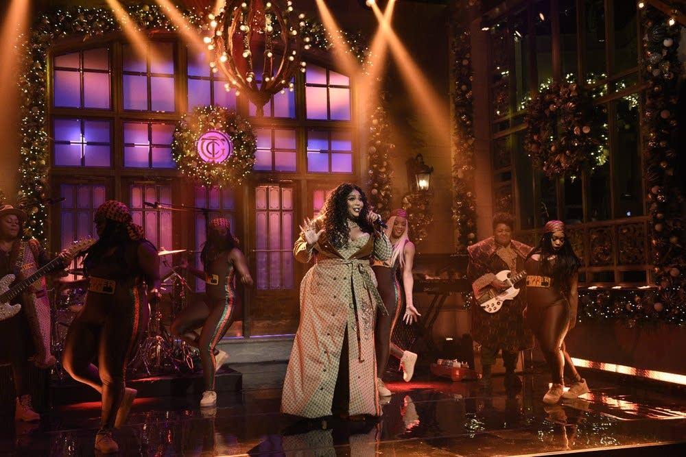 Lizzo on 'Saturday Night Live'