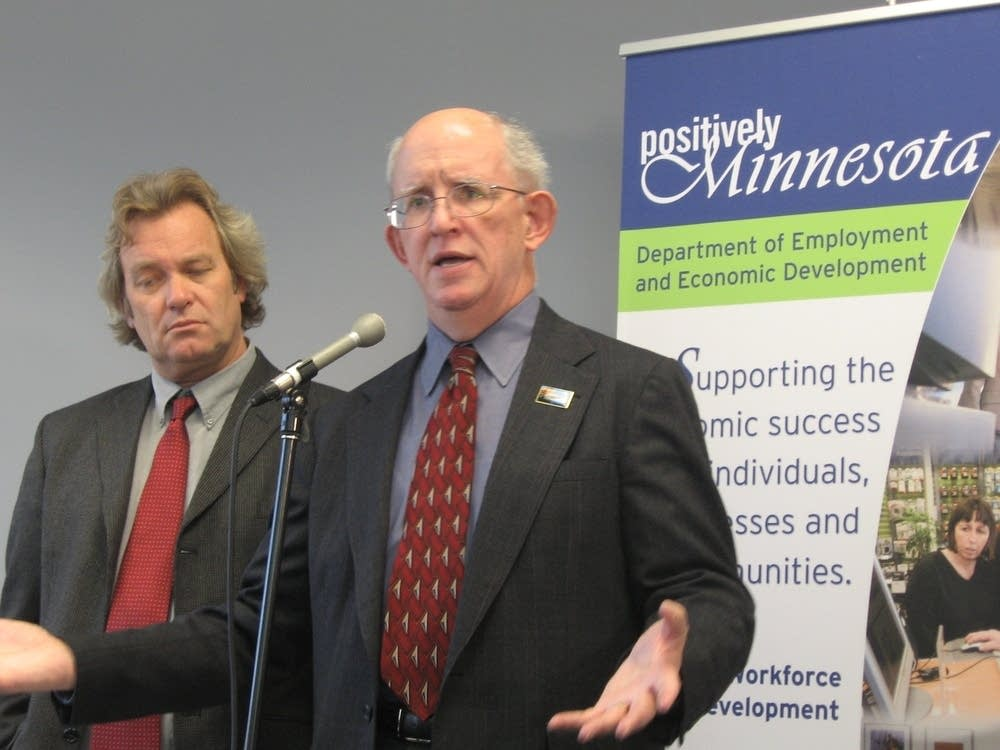 DEED Commissioner Dan McElroy