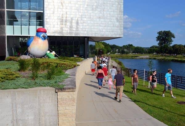 Rochester Art Center on Aug. 7, 2014.