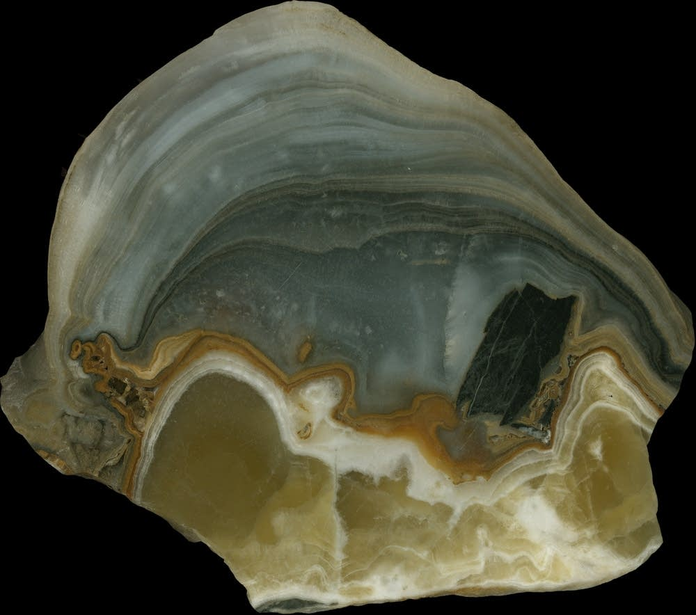 Stalagmite from cave in China