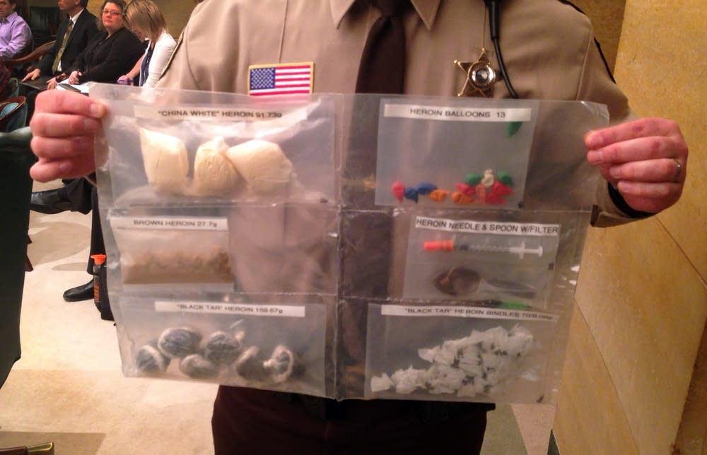 Examples of opiates