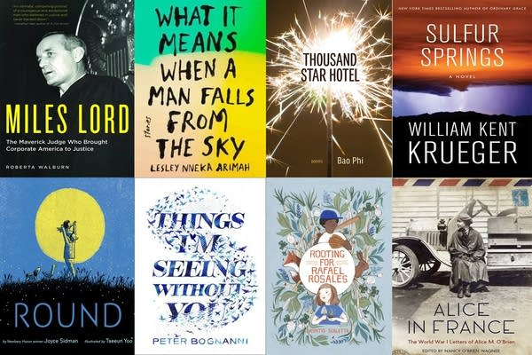 Some of the finalists of the 30th annual Minnesota Book Awards.