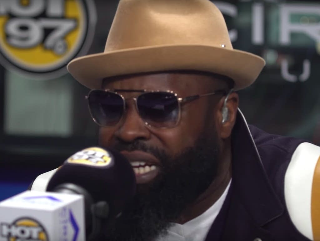 Black Thought, freestyling on Hot 97.