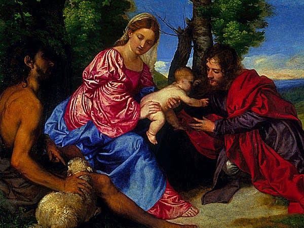 Titian's Virgin and Child