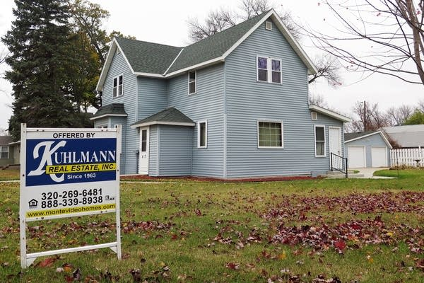 A house for sale in Appleton, Minn.