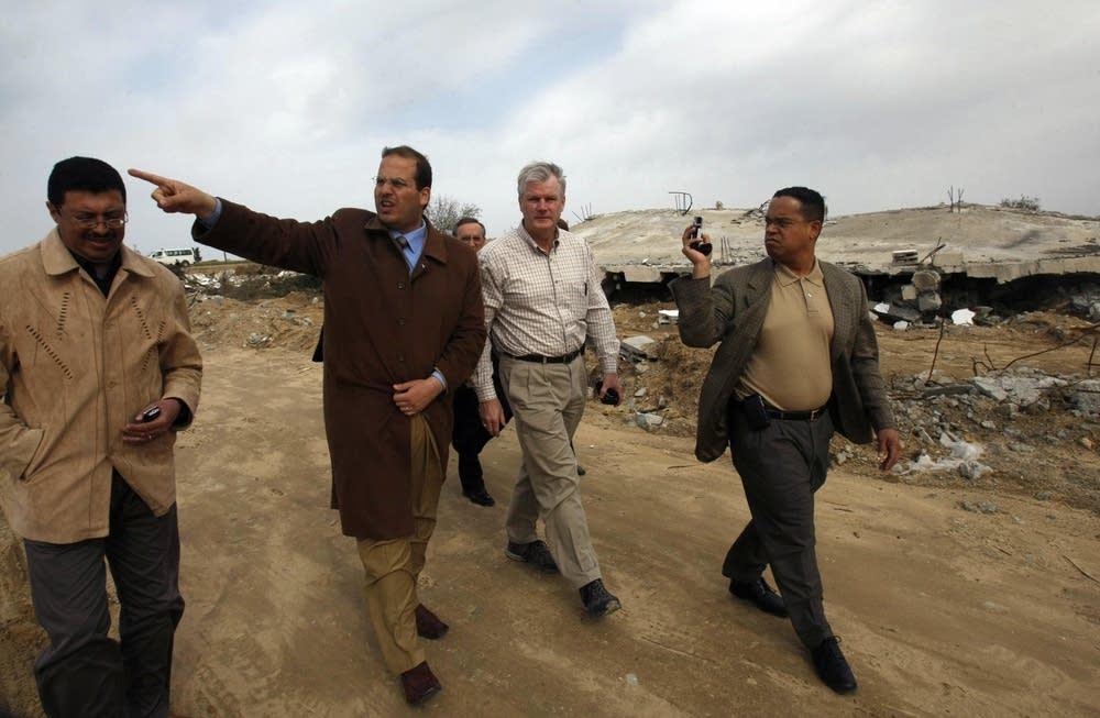Keith Ellison in Gaza