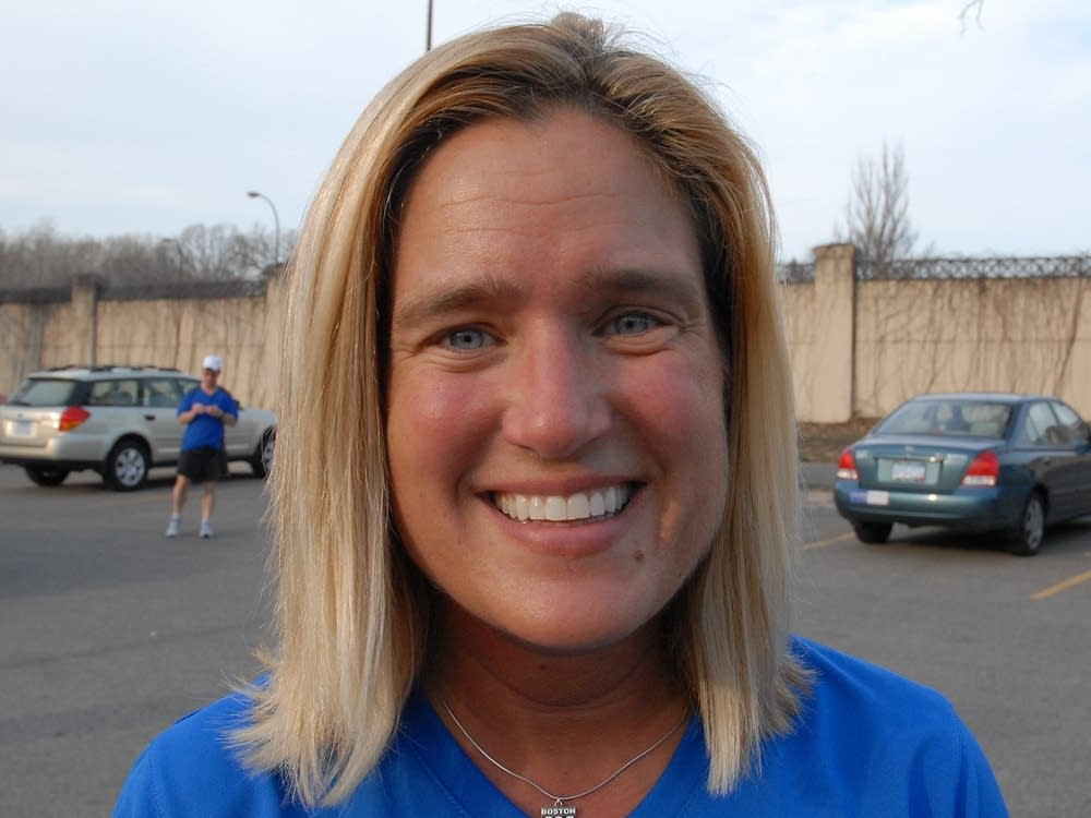 Marathoner Beth Sims