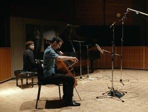 Cellist Evan Kahn and pianist Nicholas Dold