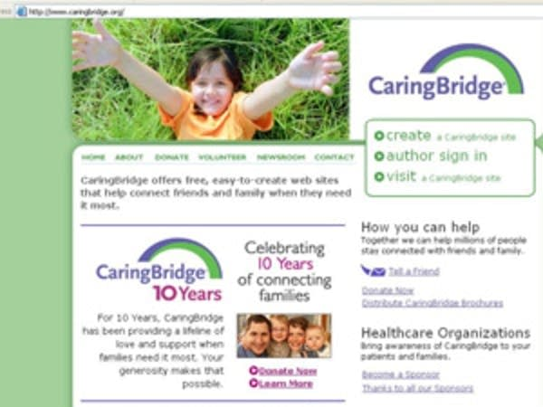 The CaringBridge Web site