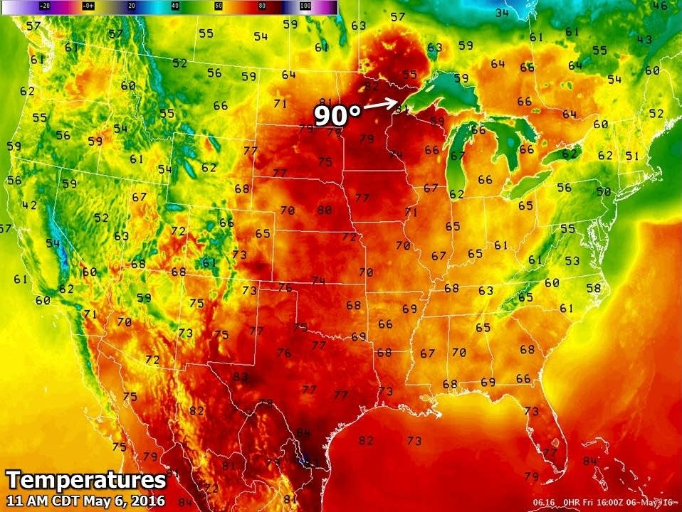 Rose Glen North Dakota ⁓ Try These Weather Hottest Place Today Usa