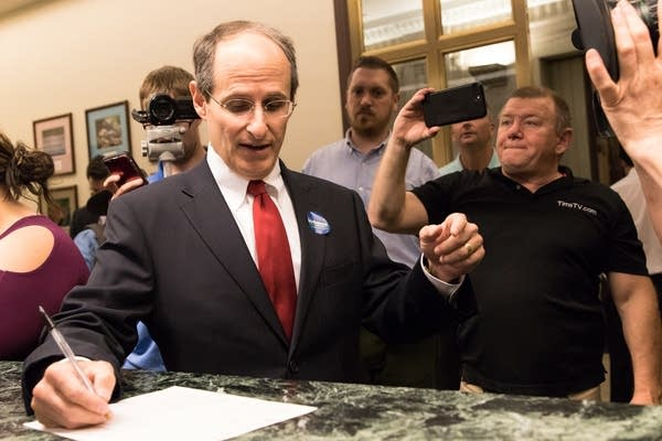 Former DFL Commerce Commissioner Mike Rothman files.