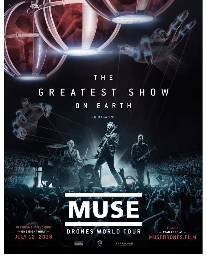 Muse Drones World Tour movie one sheet