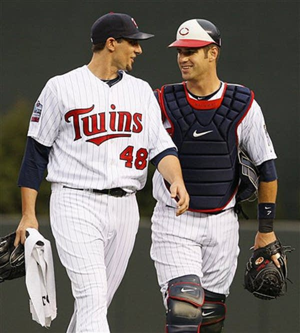 Joe Mauer, Carl Pavano