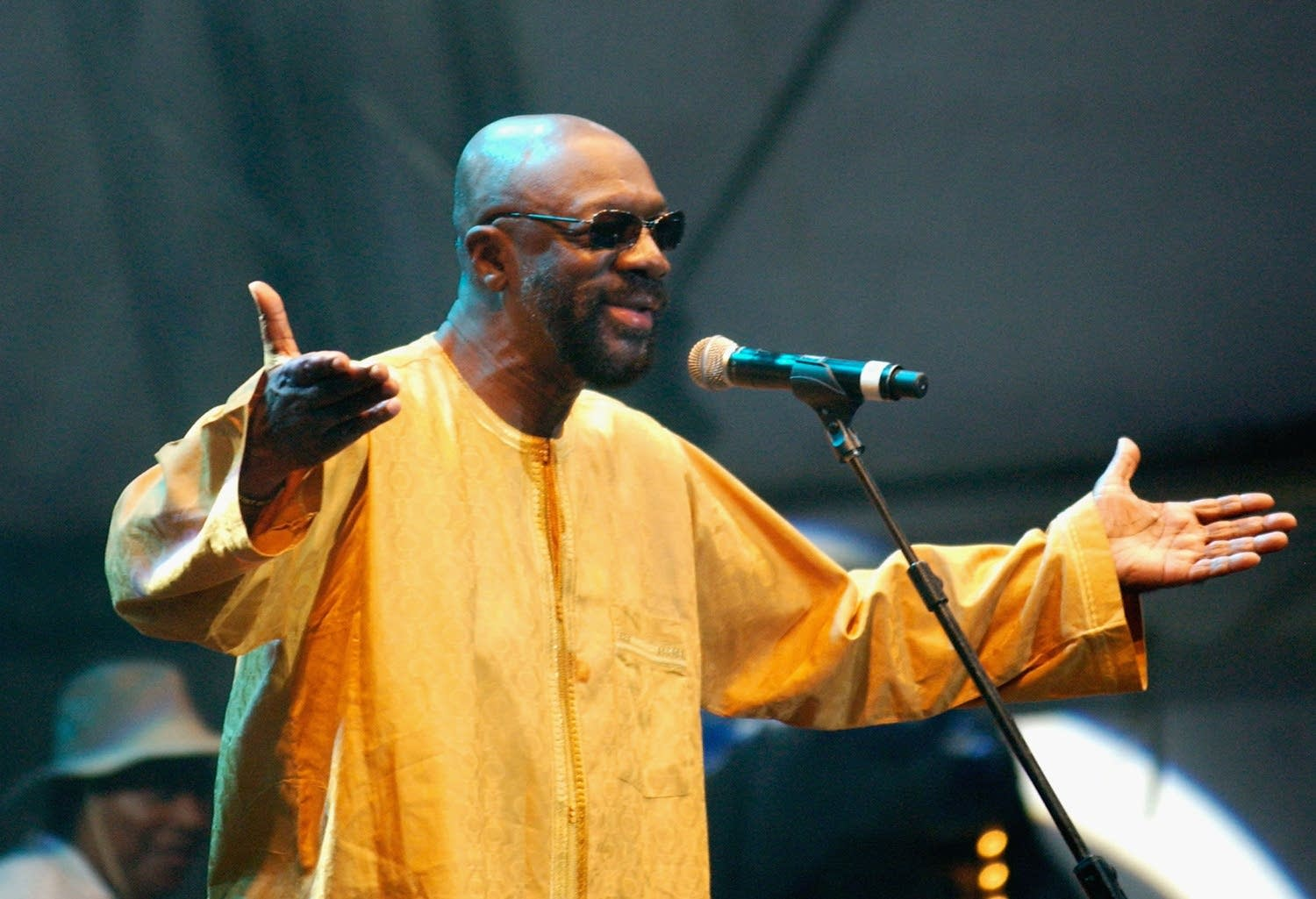 Isaac Hayes at The Big Chill Festival 2007