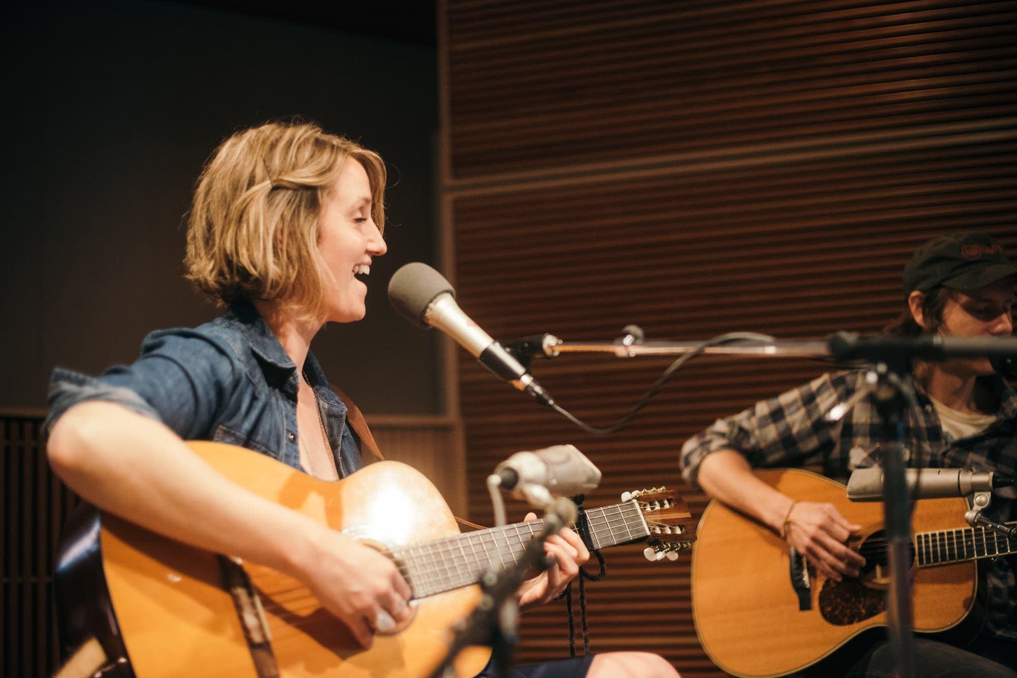 Joan Shelley performs at Radio Heartland