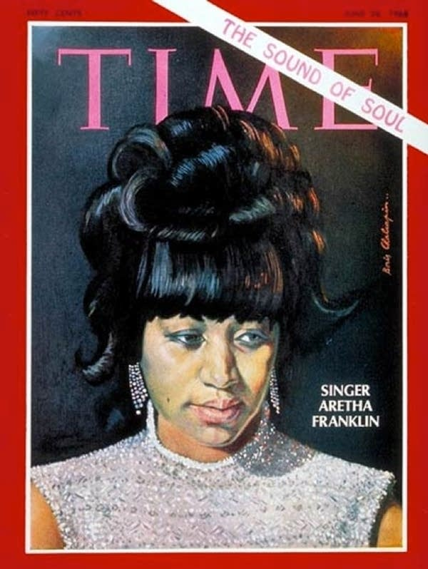 Aretha Franklin Time Magazine