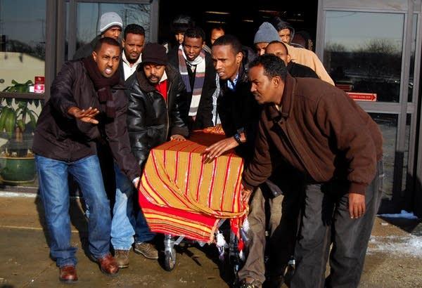 Funeral for three men shot in Minneapolis