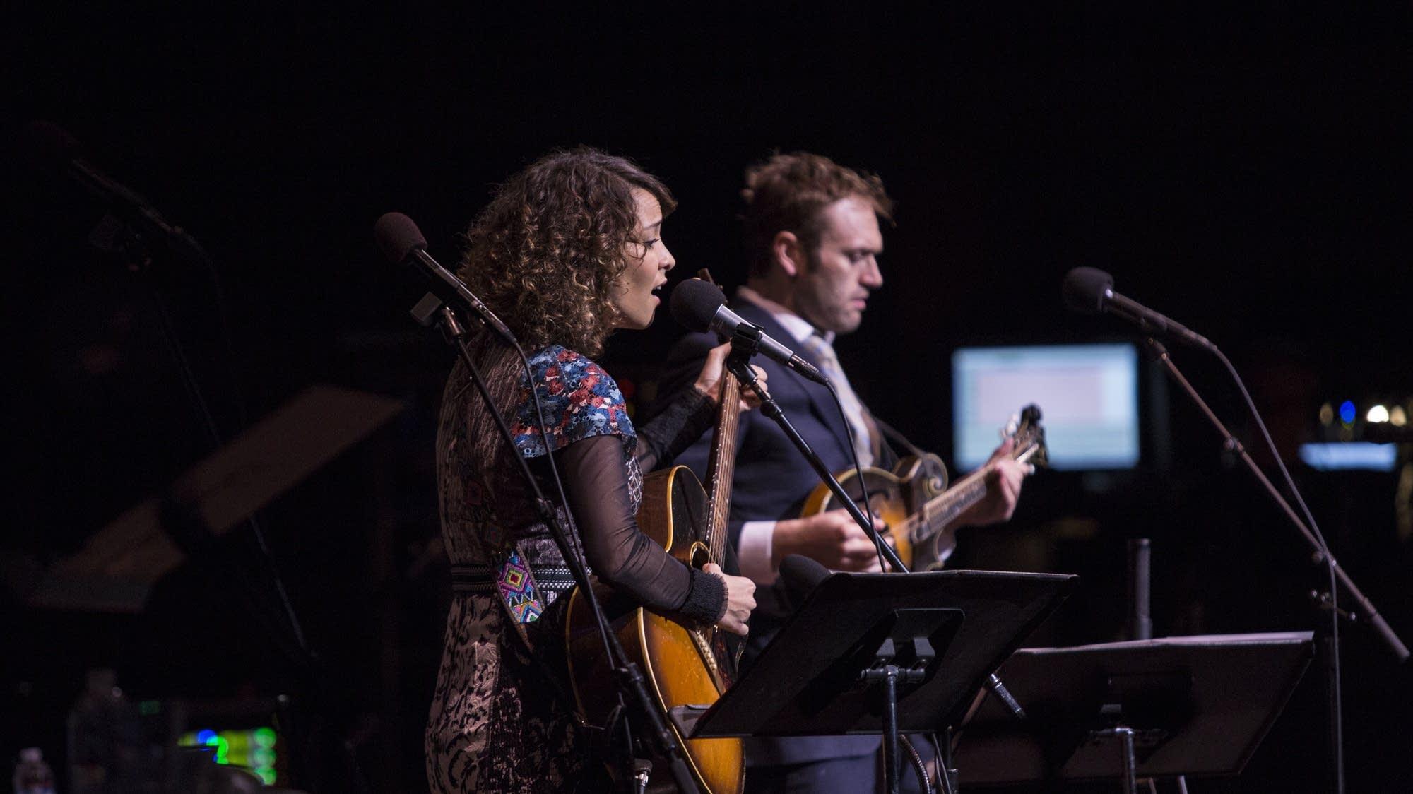 Hermana Rosetta- Gaby Moreno, with Chris Thile