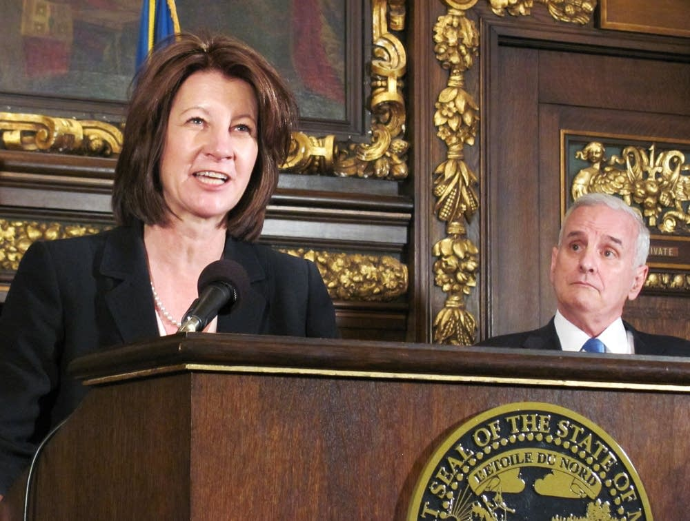 Lucinda Jesson, Mark Dayton