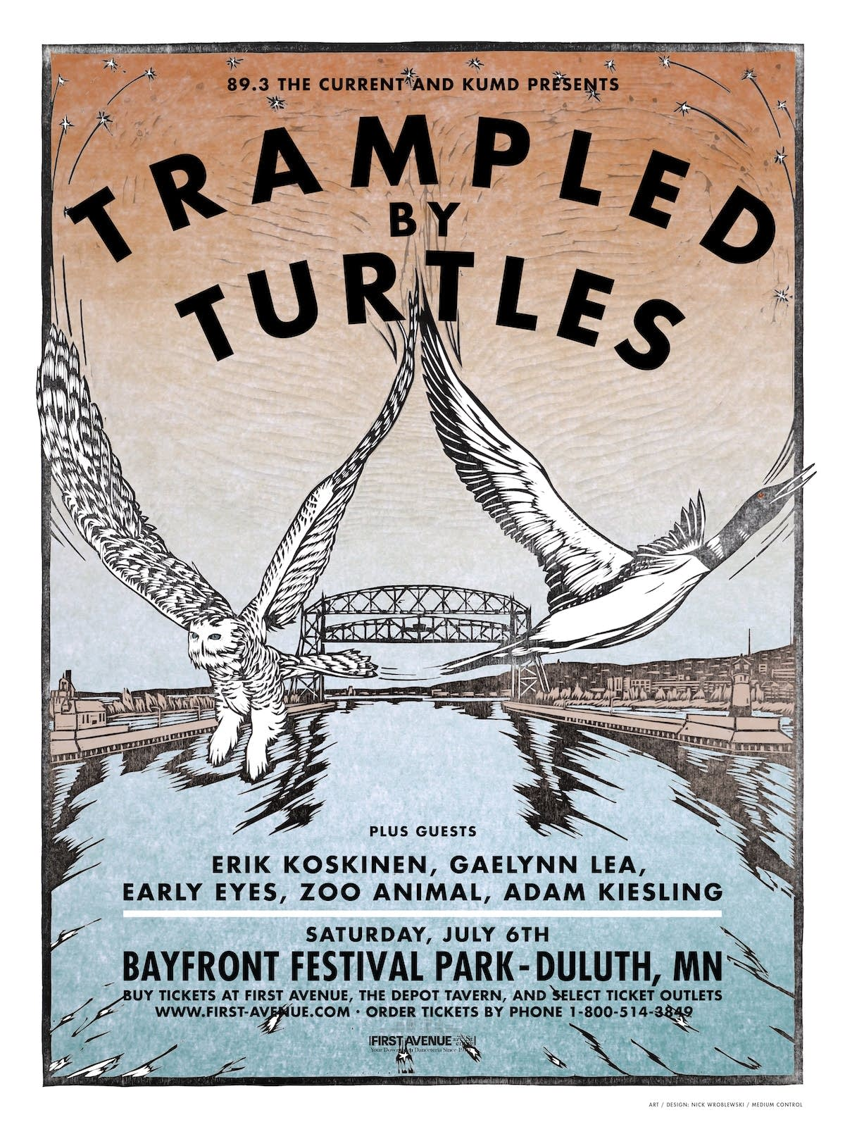 Trampled by Turtles at Bayfront Festival Park