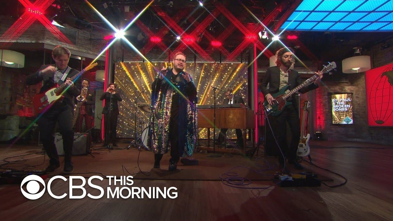 St Paul and the Broken Bones on CBS This Morning