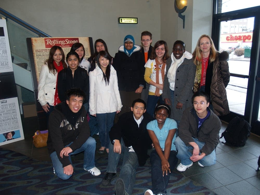 Harding students