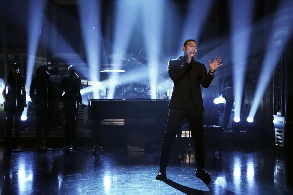 John Legend on 'The Tonight Show Starring Jimmy Fallon'