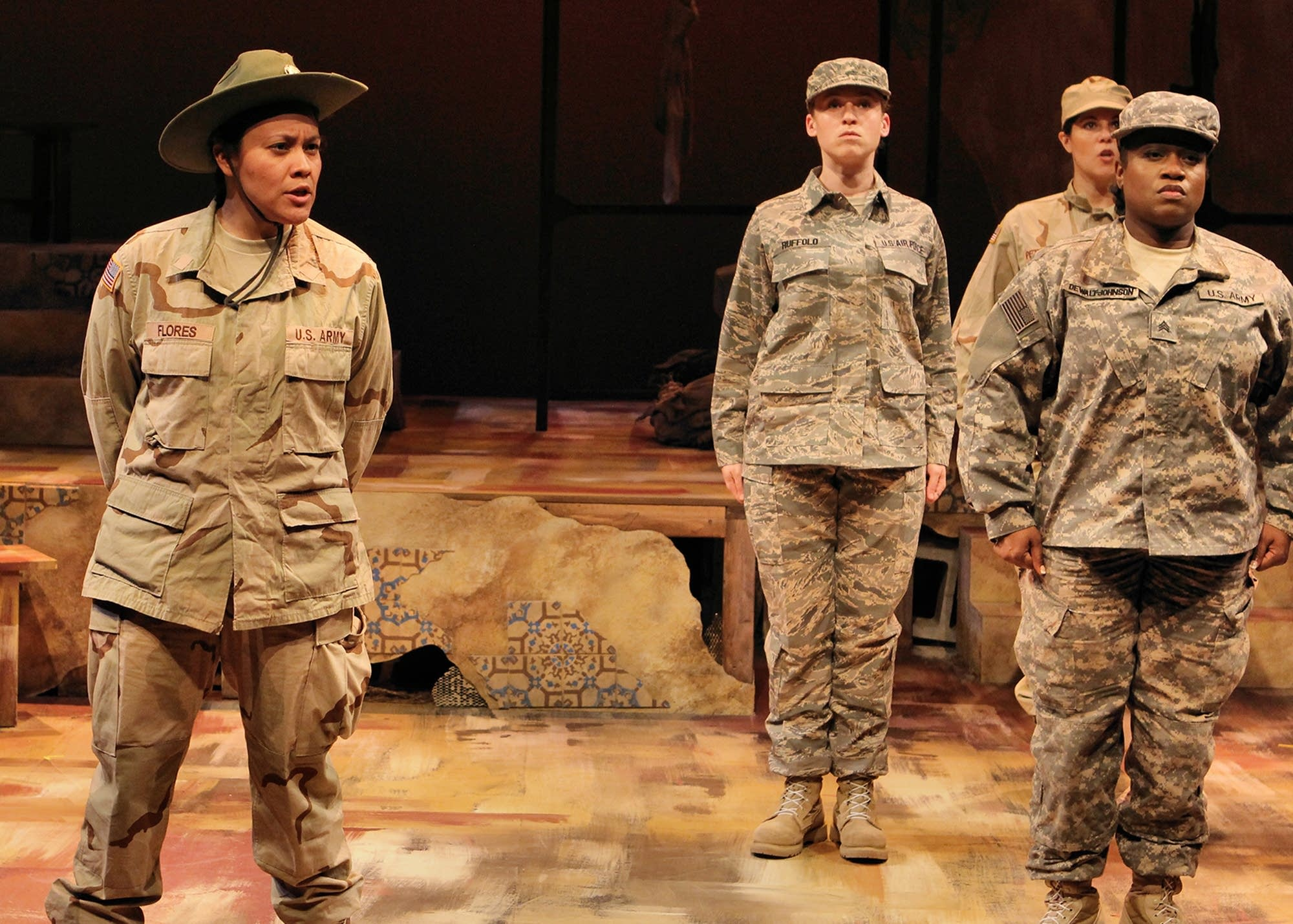 Rhiana Yazzie history theatre women war iraq