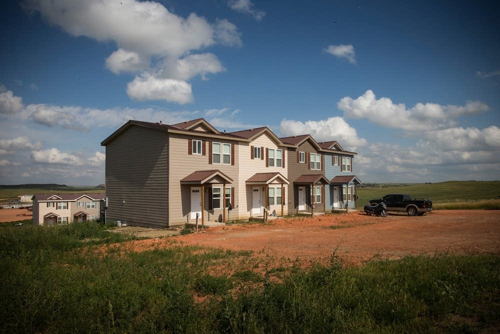 New townhouses in Watford City