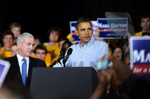 Obama, Dayton