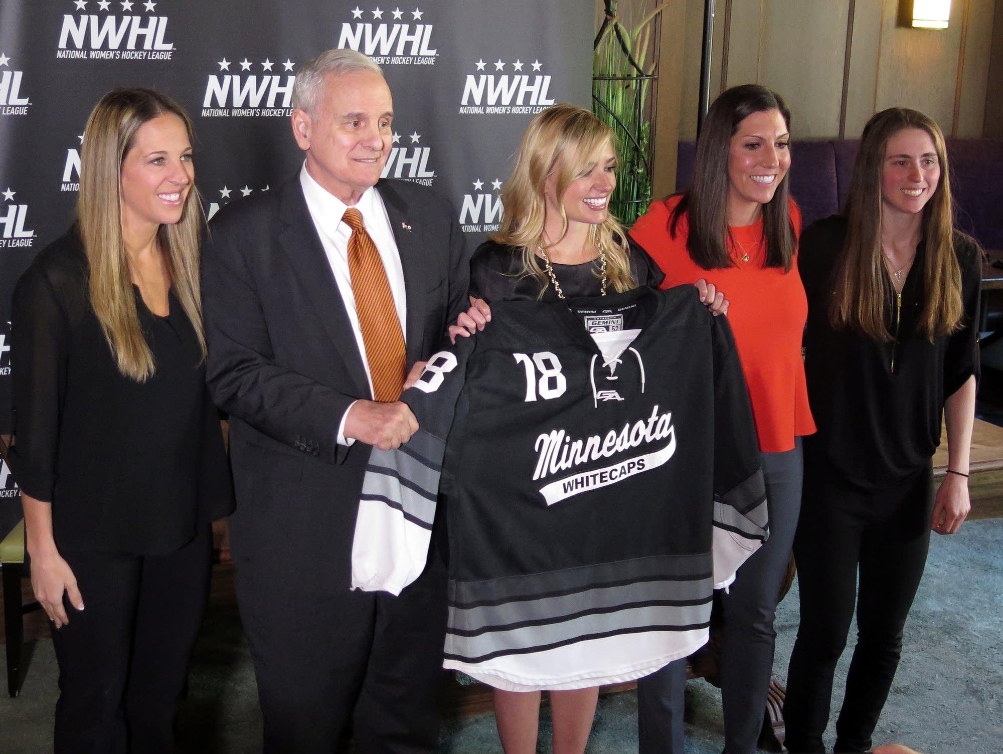 Commish One Women S Hockey League Inevitable Mpr News
