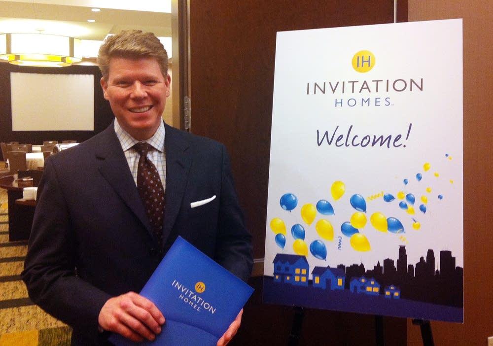 Andrew Gallina, CMO of Invitation Homes