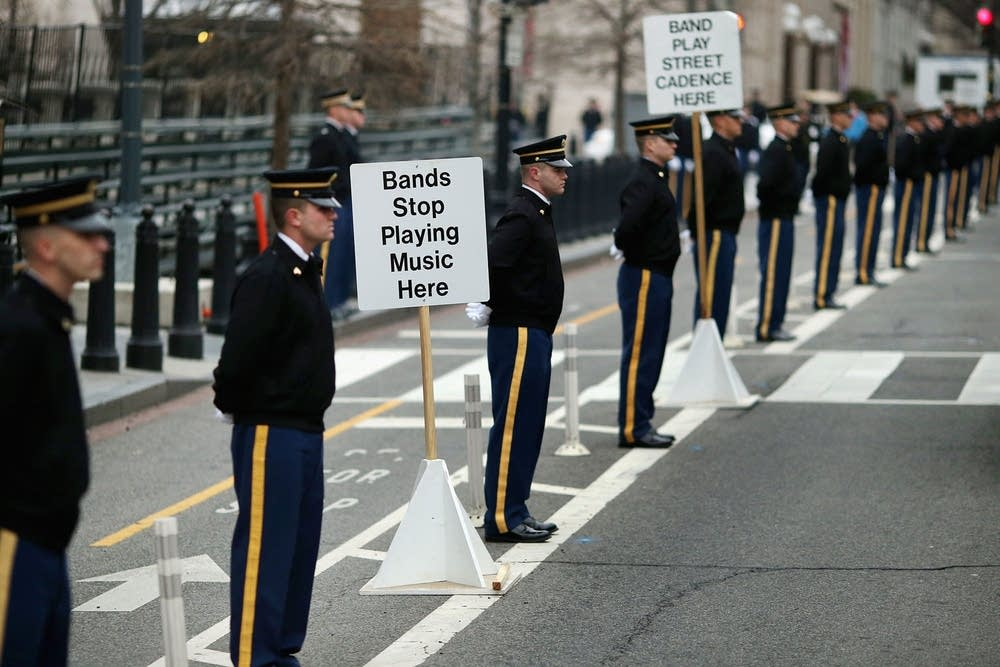 Rehearsal Held For Obama's Second Inauguration