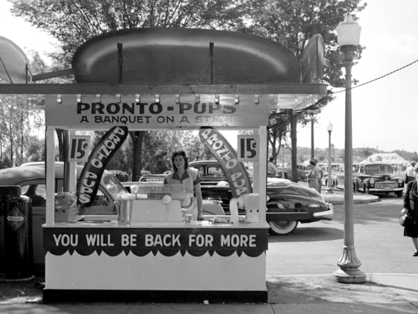 One of Pronto Pups' original state fair booths