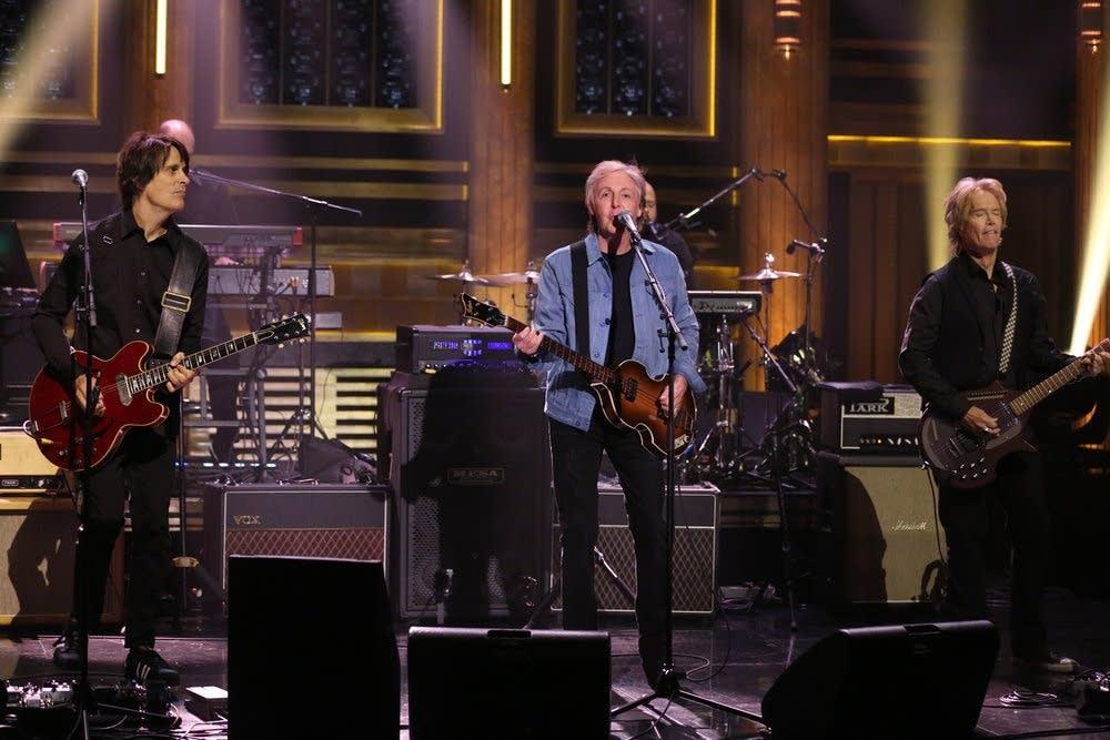 Paul McCartney on 'The Tonight Show Starring Jimmy Fallon'